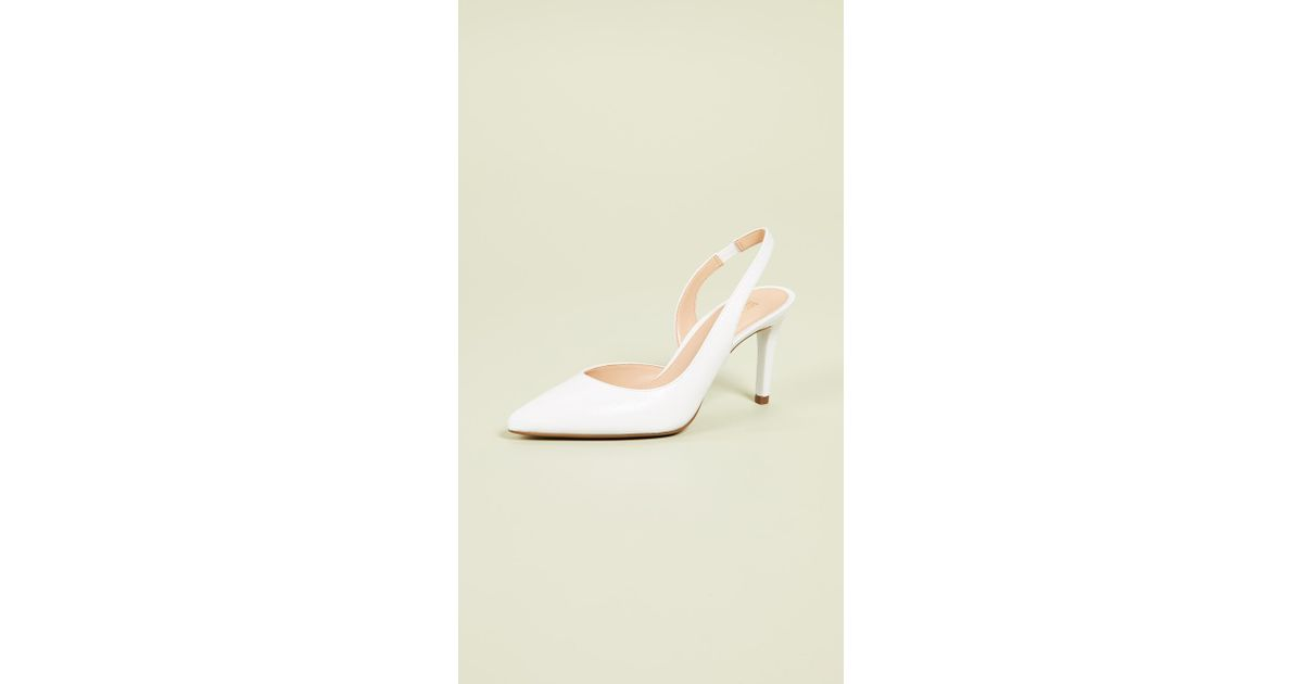 ac6acb426b6bc MICHAEL Michael Kors Lucille Flex Slingback Pumps in White - Lyst
