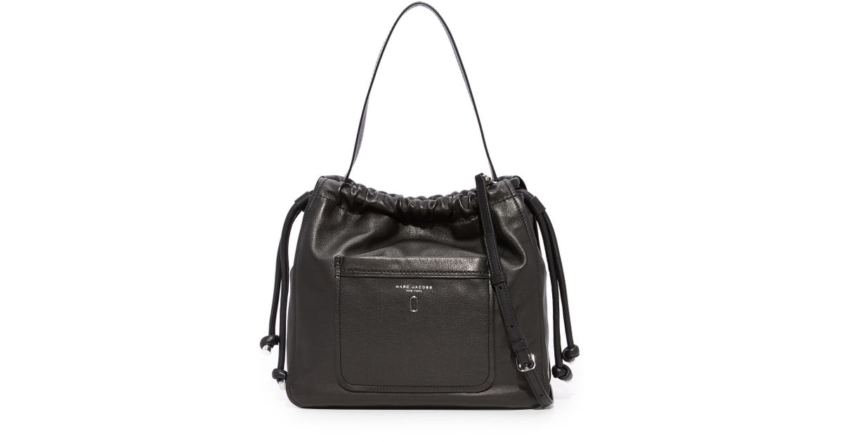 Marc Jacobs Hobo Laukku : Marc jacobs tied up hobo in black lyst