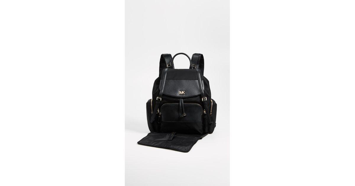 17afd5d9ca24 Lyst - MICHAEL Michael Kors Mott Diaper Bag Backpack in Black
