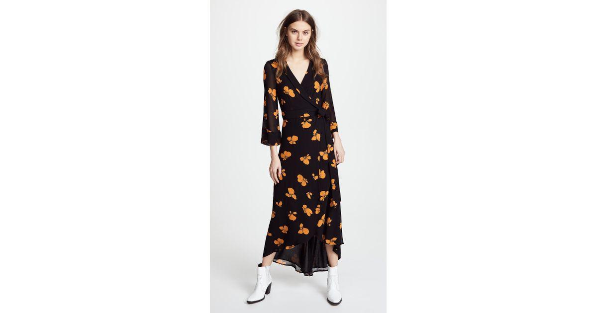 kimono dress ganni