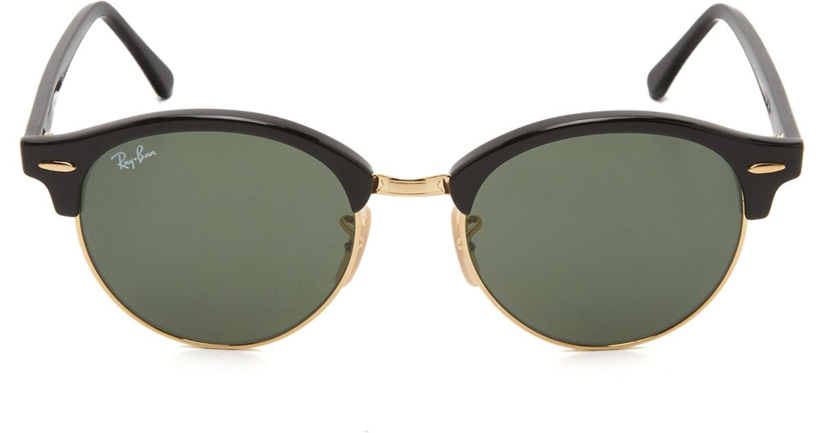 d6657df2ea Ray-ban Round Clubmaster Sunglasses in Green (Black Green)