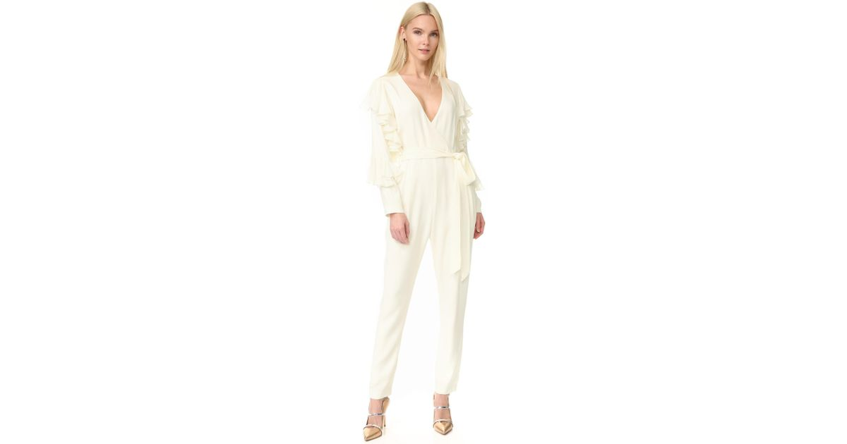 Yde Lykke Jumpsuit In White - Save 70% | Lyst