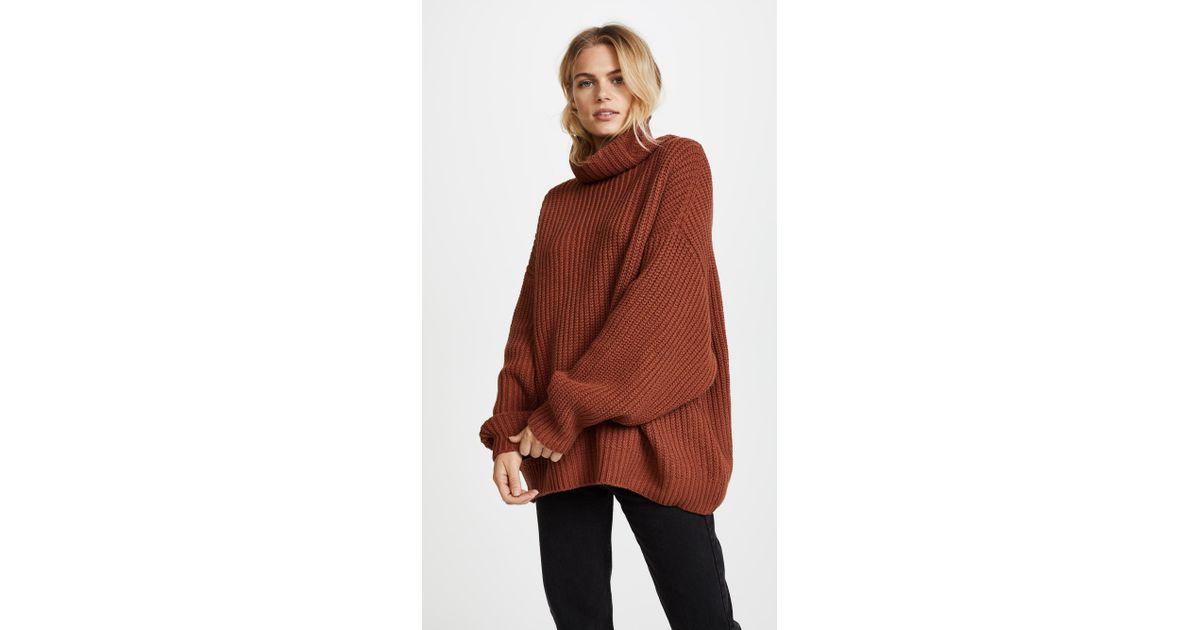 Free People Swim Too Deep Pullover Sweater Lyst