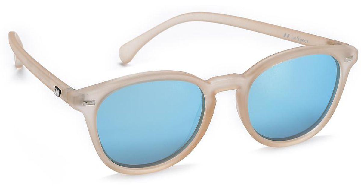 e008bf9ff87 Le Specs Bandwagon Sunglasses in Gray - Lyst