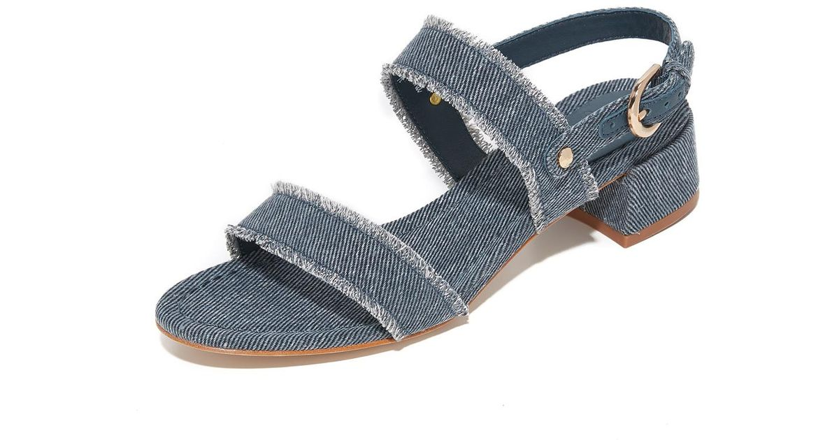 2f2d3180366 Joie Blue Rach Heeled Sandal