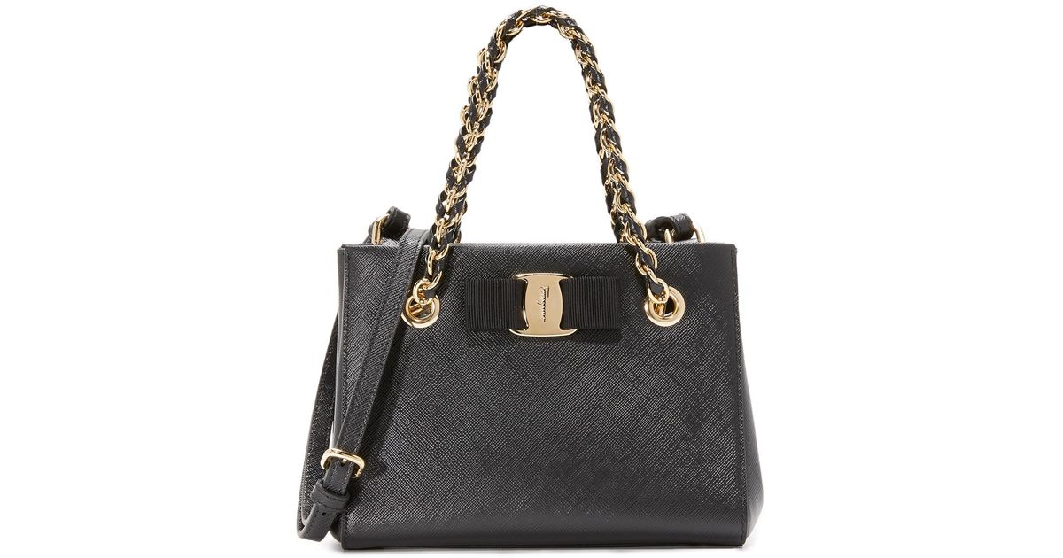b138410c7f88 Ferragamo Melike Mini Tote Bag - Lyst