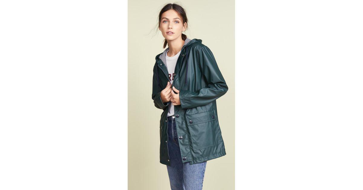 1a0a65d6cd74 Petit Bateau Classic Raincoat - Lyst