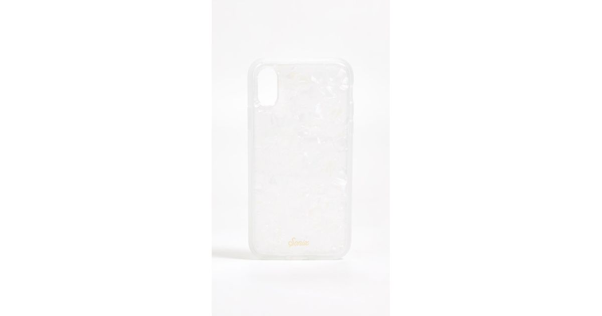 buy popular 377f2 cb8c6 Sonix White Pearl Tort Iphone Xs / X Case