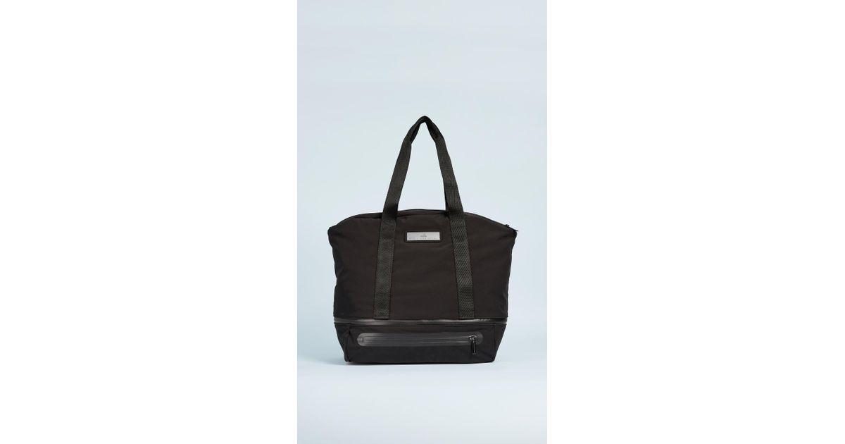 36de2328ea Adidas By Stella Mccartney Iconic Bag in Black - Lyst