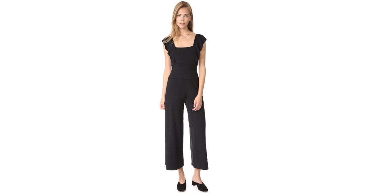 72e136204cf Lyst - Susana Monaco Eden Jumpsuit in Black