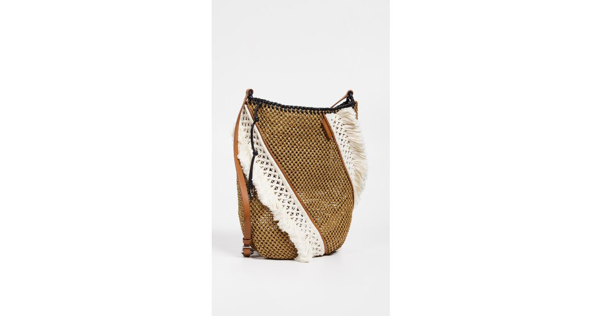 ad59c91db 3.1 Phillip Lim Marlee Open Weave Bag With Fringe - Lyst