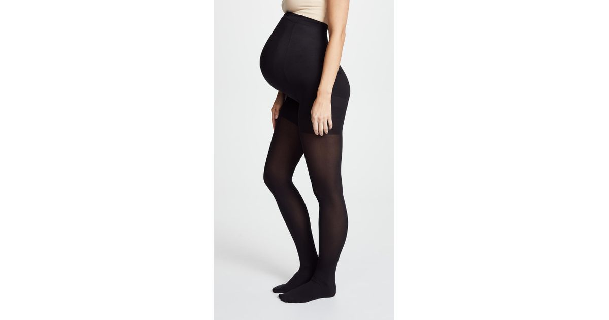 dc418a841a Spanx Mama Maternity Tights in Black - Lyst