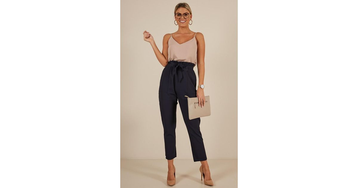 465cecb6ec9 Lyst - Showpo Personality Crisis Pants in Blue - Save 25%