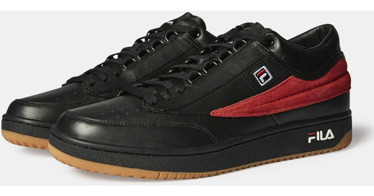 Gosha Rubchinskiy Black X Fila T-1 Sneakers for men