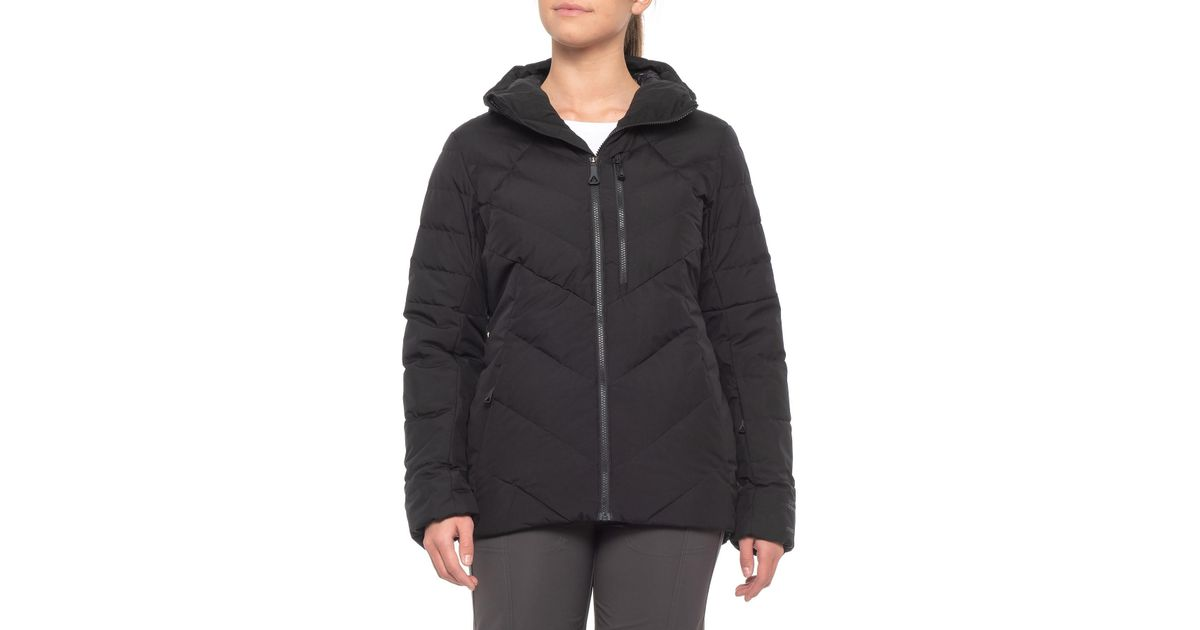 f872c732d The North Face Black Corefire Windstopper® Hooded Down Ski Jacket (for  Women)
