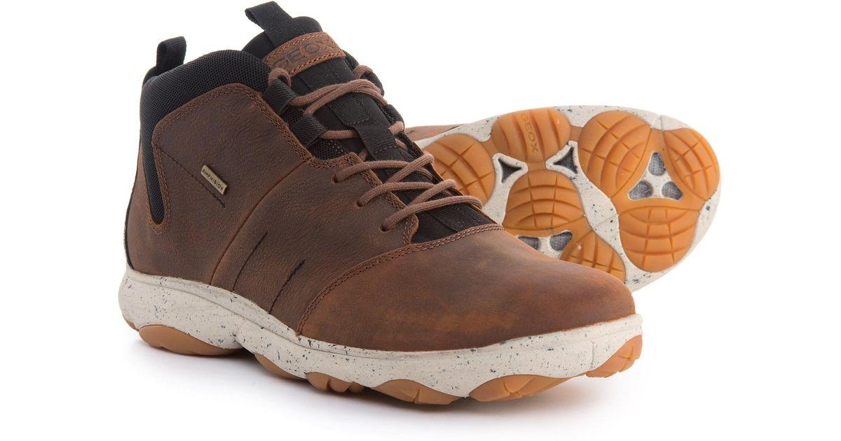 Geox Leather Nebula 4x4 B Abx Boots