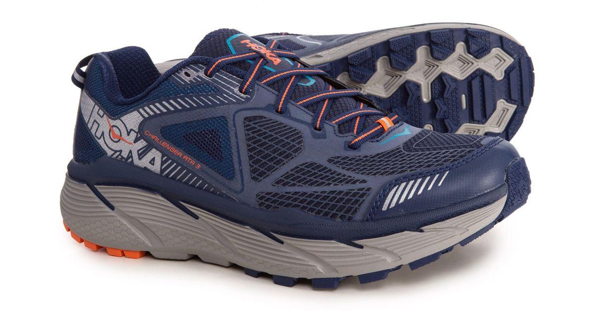 b4ff4300decc Lyst - Hoka One One Challenger Atr 3 Trail Running Shoes (for Men) in Blue  for Men