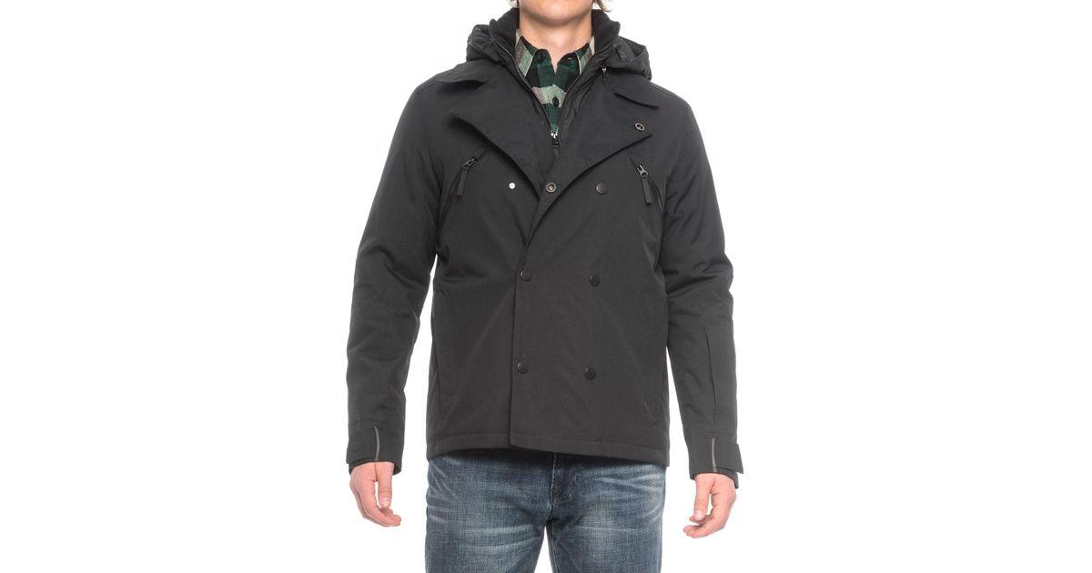 Jack Wolfskin Black Tech Lab Williamsburg Jacket for men