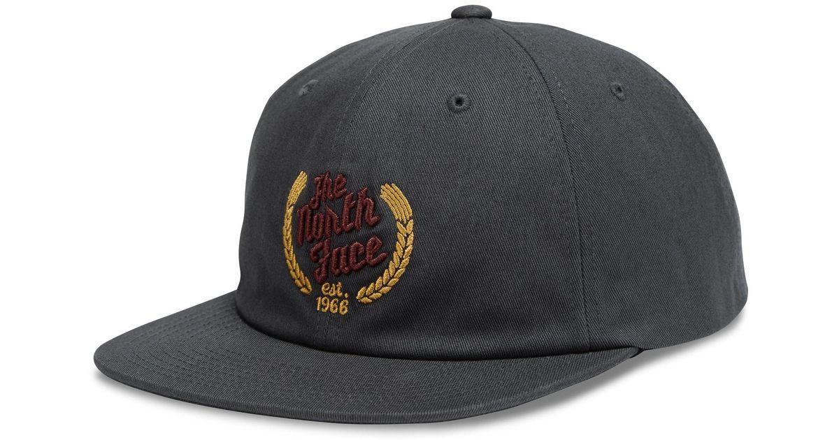 Lyst - The North Face El Cap Baseball Cap (for Men) in Gray for Men 83cd2f5e7b97