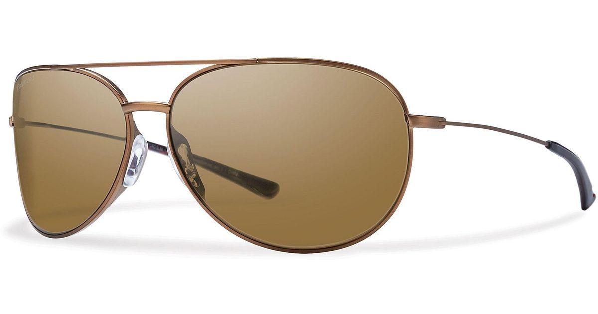 c76367dca2 Lyst - Smith Optics Rockford Slim Sunglasses in Brown for Men