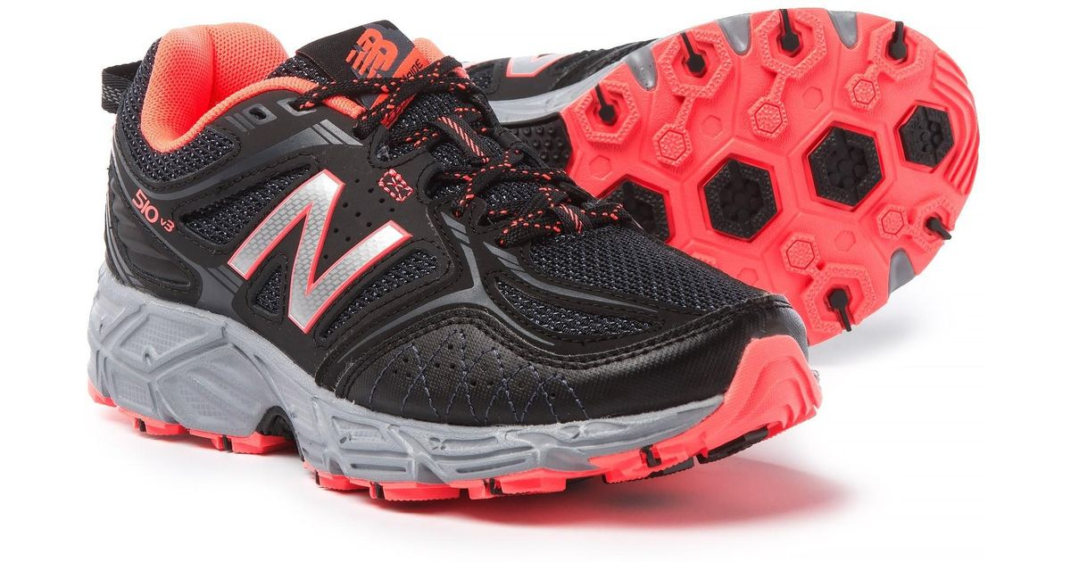 fbc1fcefdb9 Lyst - New Balance 510v3 Trail Running Shoes (for Women) in Red