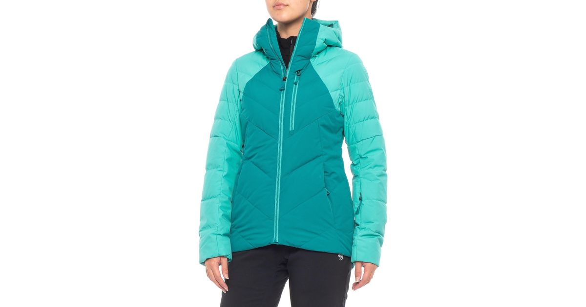88ed70203 The North Face Blue Corefire Windstopper® Hooded Down Ski Jacket (for Women)