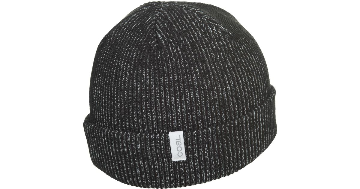 5163eed5f23 Lyst - Coal The Binary Beanie (for Men) in Black for Men