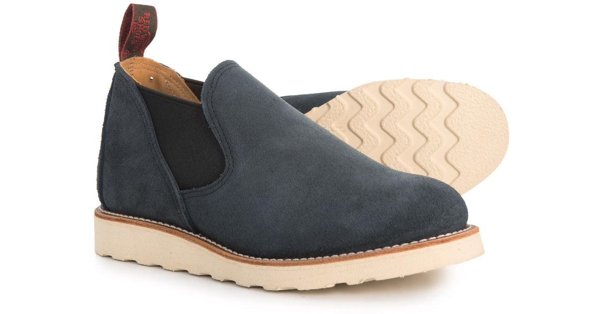 Red Wing Leather Romeo Slip-on Shoes in
