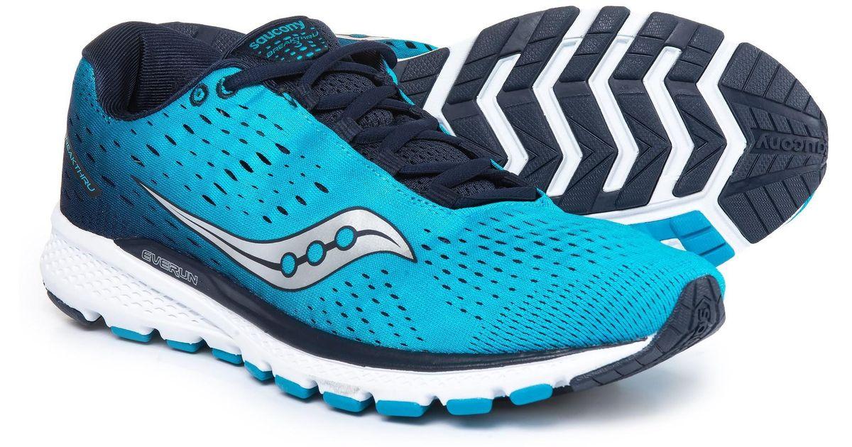 Saucony Blue Breakthru 3 Running Shoes (for Men) for men