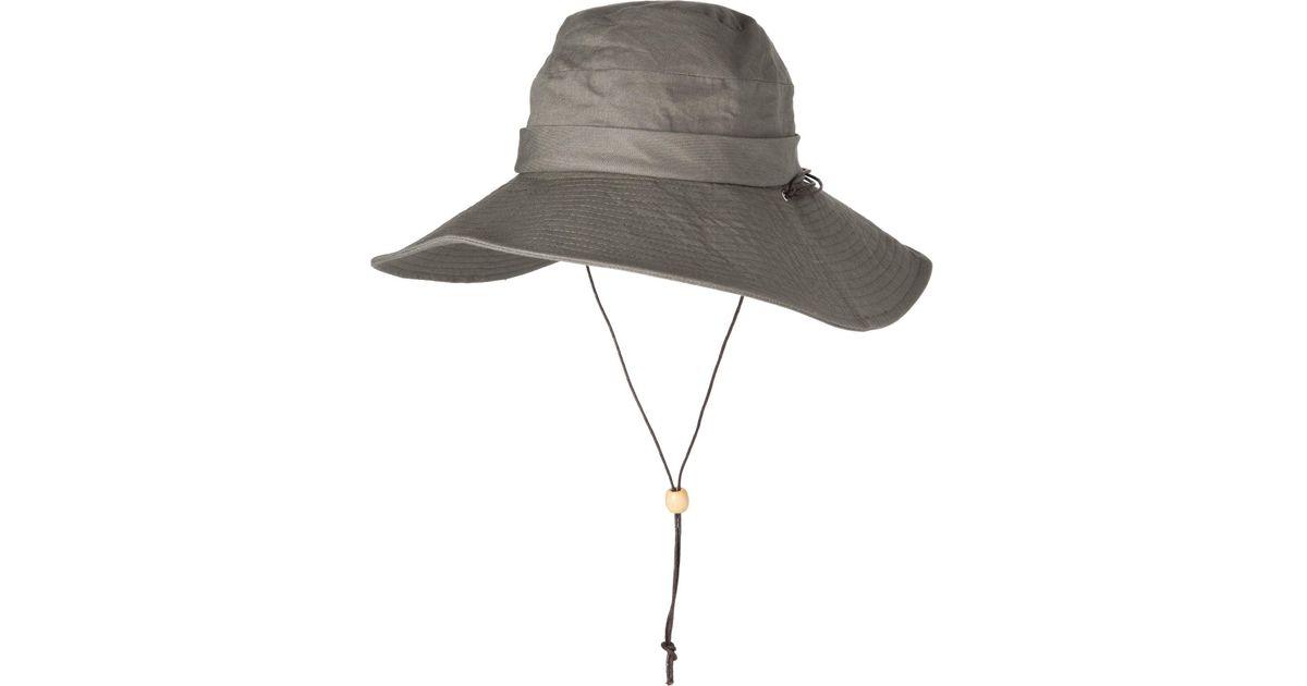 5653ebd52 Dorfman Pacific - Green Acad Boonie Hat - Lyst