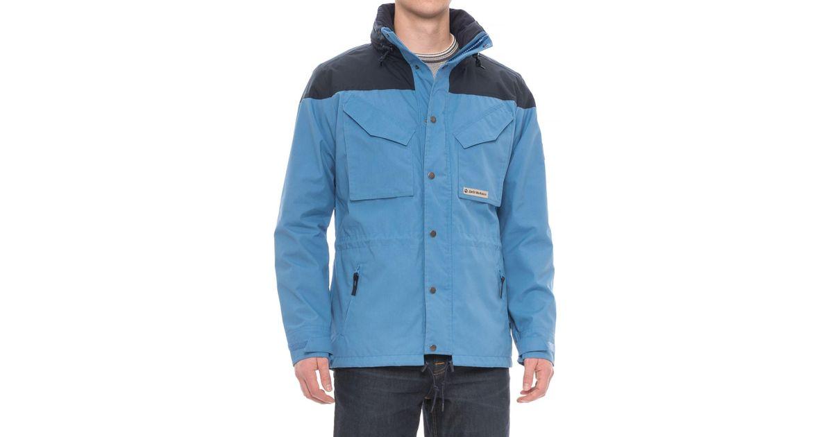 50-70% Rabatt Beförderung Sportschuhe Jack Wolfskin Blue Bronco Jacket for men