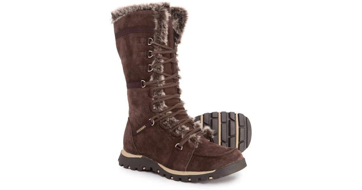 78d2686fdcda7 Lyst - Skechers Grand Jams Unlimited Boots (for Women) in Brown - Save  37.9746835443038%