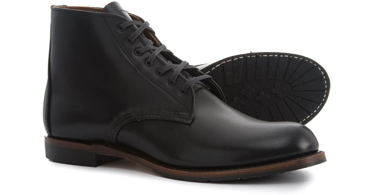 ebd485931f4 Red Wing Black Sheldon Leather Boots for men