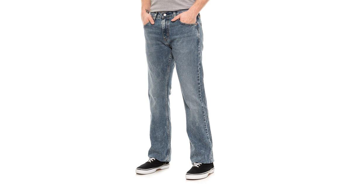 0869faa6d05 Levi's Blue Figure Four 527 Slim Bootcut Jeans for men