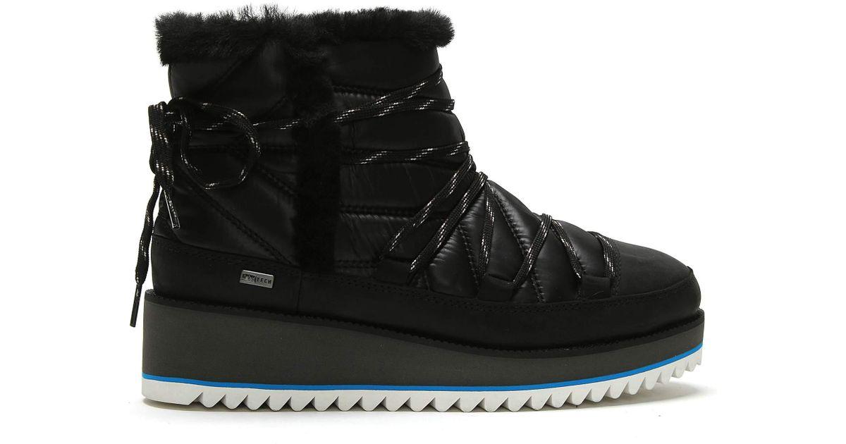 f0a8e52dbd1 Ugg Black Cayden Nylon Ankle Boots