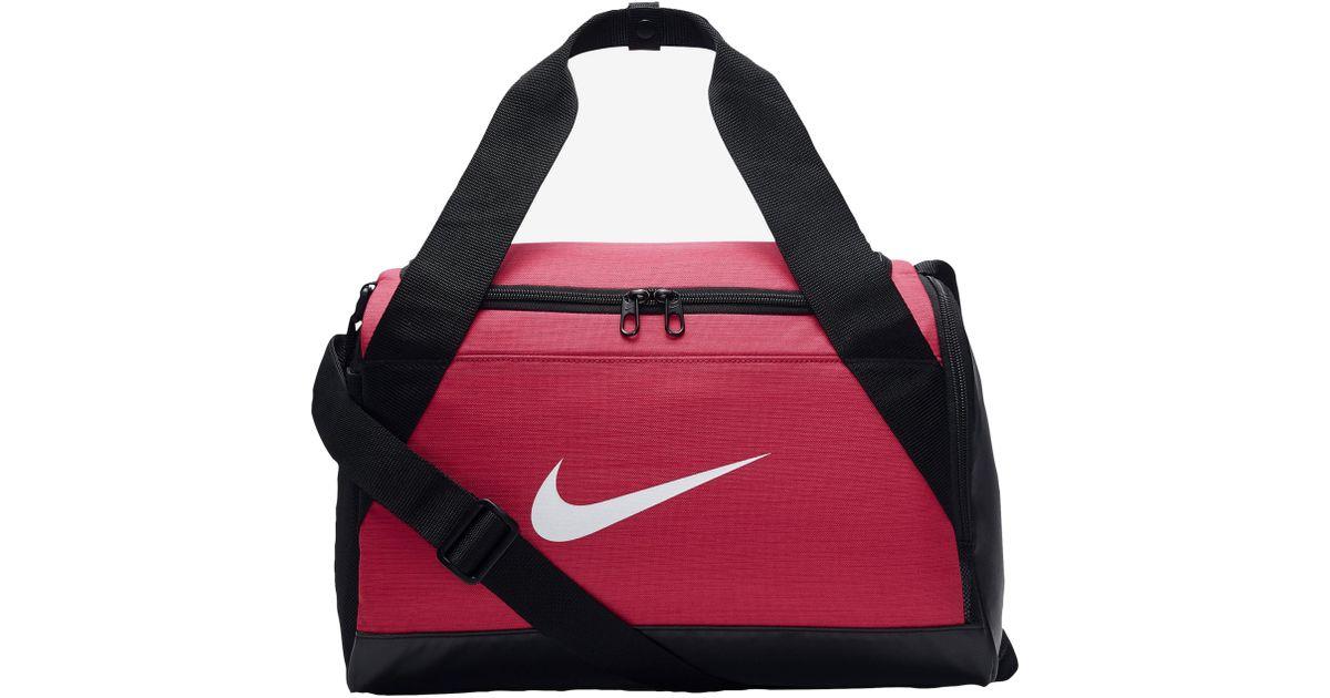 add50a7abe Lyst - Nike Brasilia X-small Duffel in Red for Men