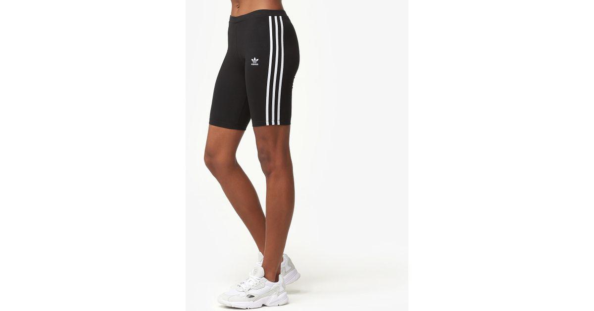 best website 71e1d e1a57 adidas Originals 3-stripe Cycling Shorts in Black - Lyst
