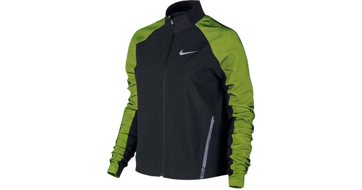 466b0627f999 Lyst - Nike Dri-fit Stadium Jacket in Black