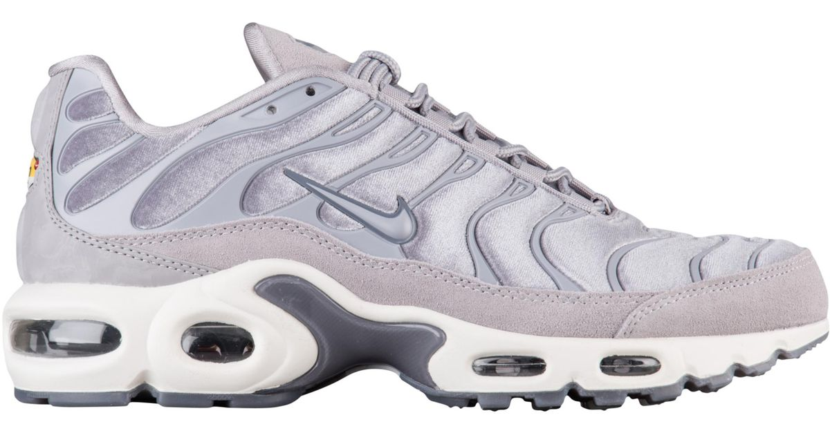 9b2784e3732ca2 Lyst - Nike Air Max Plus Lx Velvet in Gray for Men