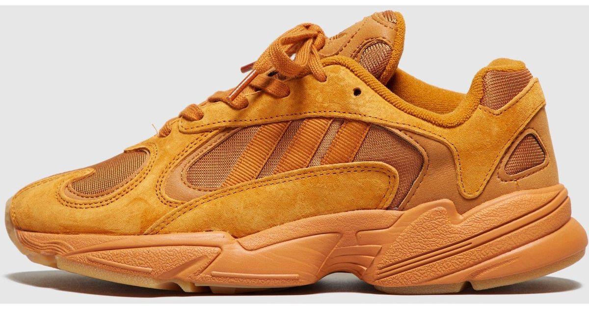 d6cdfc76ce435 Adidas Originals Orange Yung-1 ?ochre? - Size? Exclusive Women's