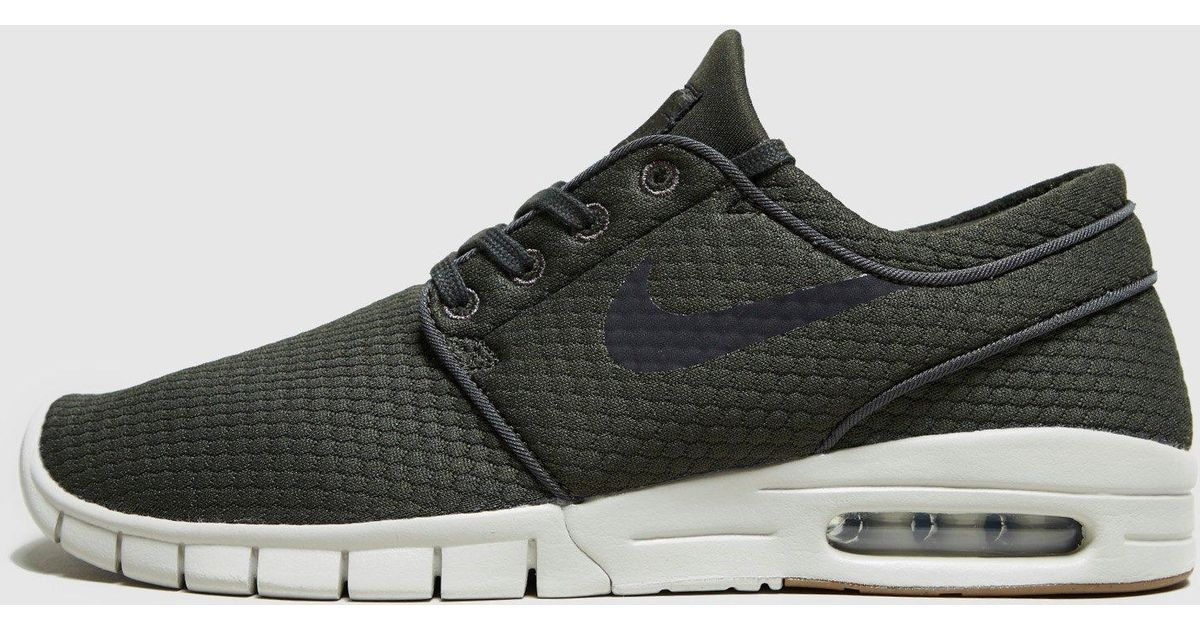 newest 430ad 7796b Nike Stefan Janoski Max in Green for Men - Lyst