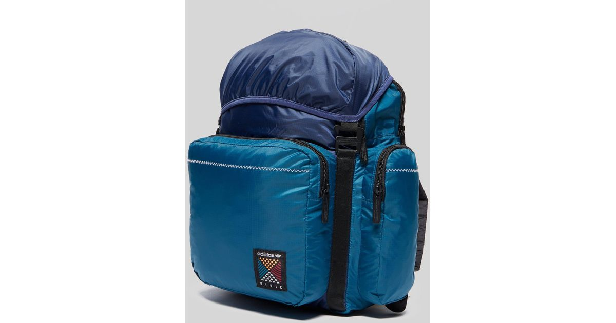 33be1997a2 adidas Originals Atric Backpack Medium in Blue for Men - Lyst