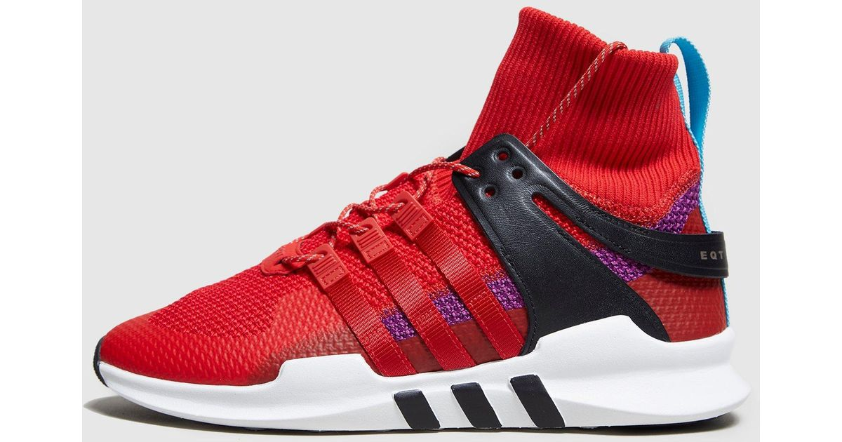 watch 0ce69 d235e Adidas Originals - Red Eqt Support Adv Winter for Men - Lyst