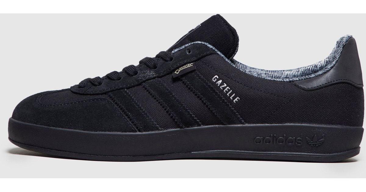 Lyst - adidas Originals Gazelle Indoor Gtx - Size  Exclusive in Black for  Men ec63c415e