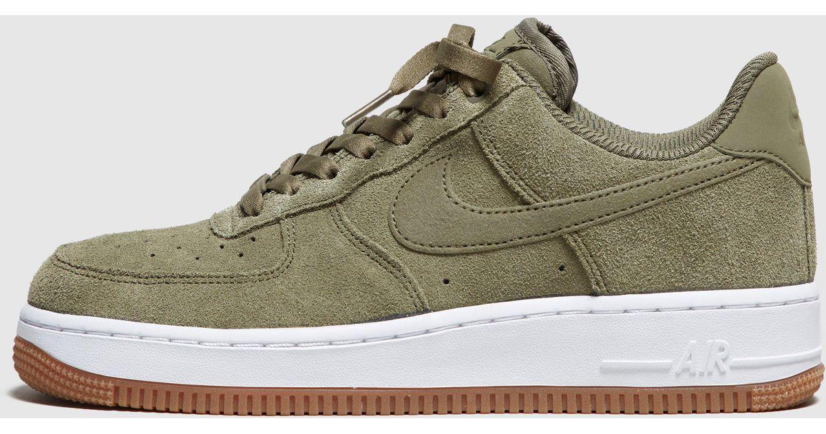 9a4b2ec8960fa Nike Air Force 1 Suede Women's - Lyst