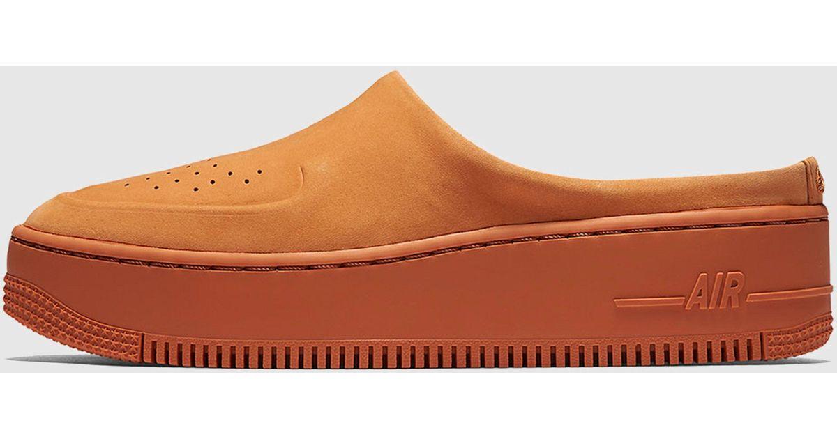 sale retailer 03aae e9c60 Nike Orange Air Force 1 Lover Xx Women's