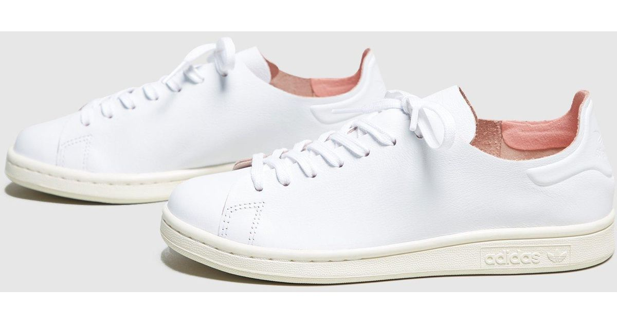 ee3a17ca9d4403 963 reviews  hot sales Lyst - Adidas Originals Stan Smith Nude Women s in  White f7d25 6fcf4 ...
