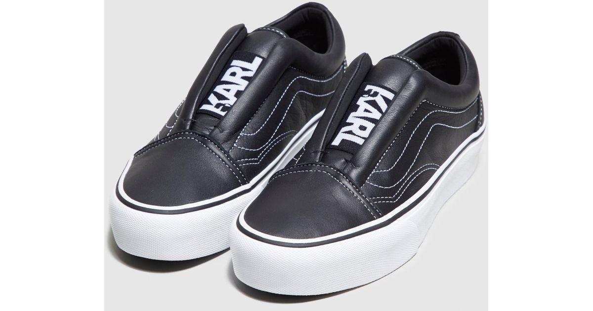 vans karl lagerfeld shoes