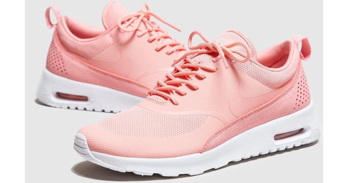 wiele kolorów klasyczne style buty do biegania Nike Pink Air Max Thea Essential Women's