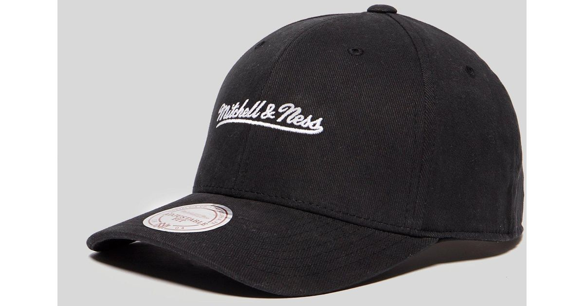 Lyst - Mitchell   Ness Pro 110 Snapback in Black for Men d01304b0ed3